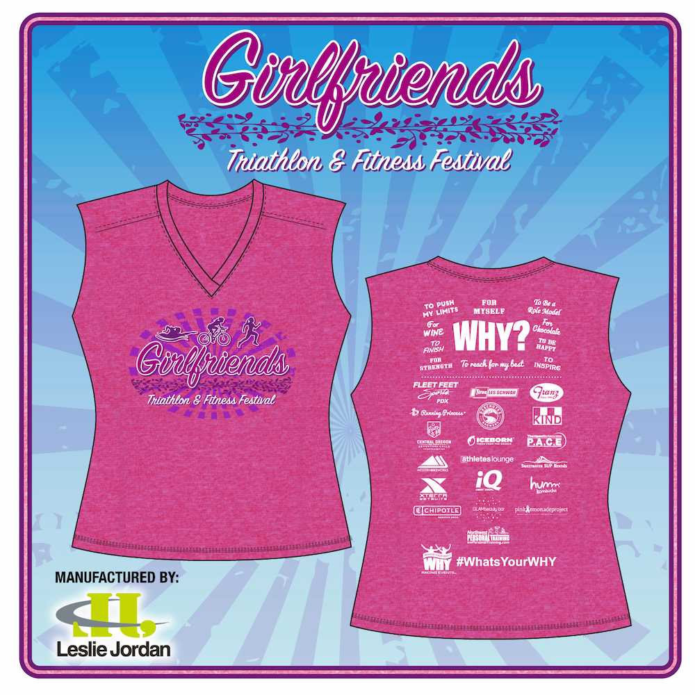 2017 Girlfriends Triathlon T-Shirt