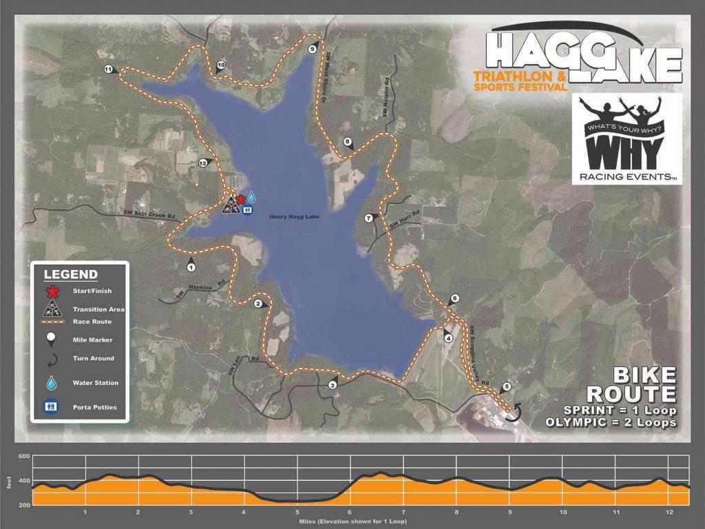 Hagg Lake Bike Route